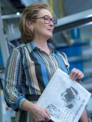 "Meryl Streep as Katharine Graham in ""The Post."""