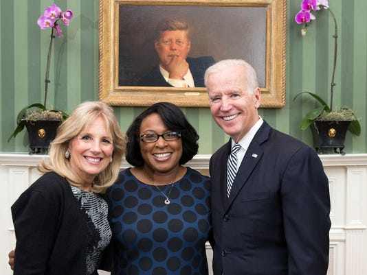 Mayor Warren with VP Biden, Dr. Jill Biden.jpg