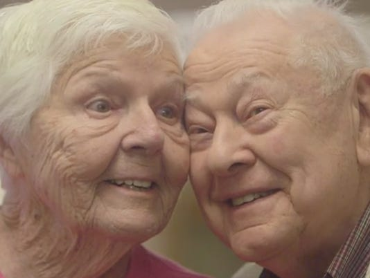 It's never too late! Couple finds love in their 90s