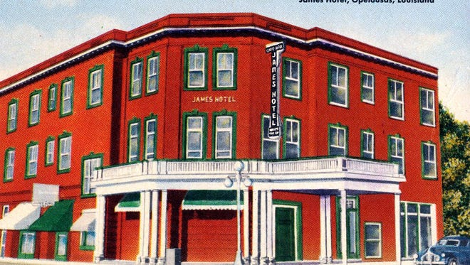 The James Hotel in the 1930s.
