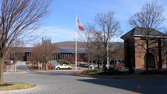 Corning Inc. headquarters, in Riverfront Plaza in Corning.