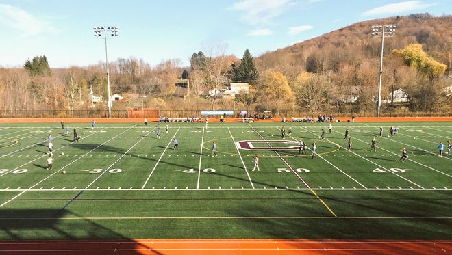 The Geneseo girls soccer team beat Schoharie 2-0 at Cortland High on Saturday in the Class C state semifinals.