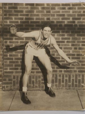 Above, 1941 IndyStar Mr. Basketball John Bass from Greenwood. He passed away in 1989 at age 66.