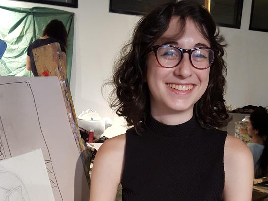 For Leah Cohen, 17, of Wenonah, this summer has been about tackling new challenges that could point her towards a future as a painter.