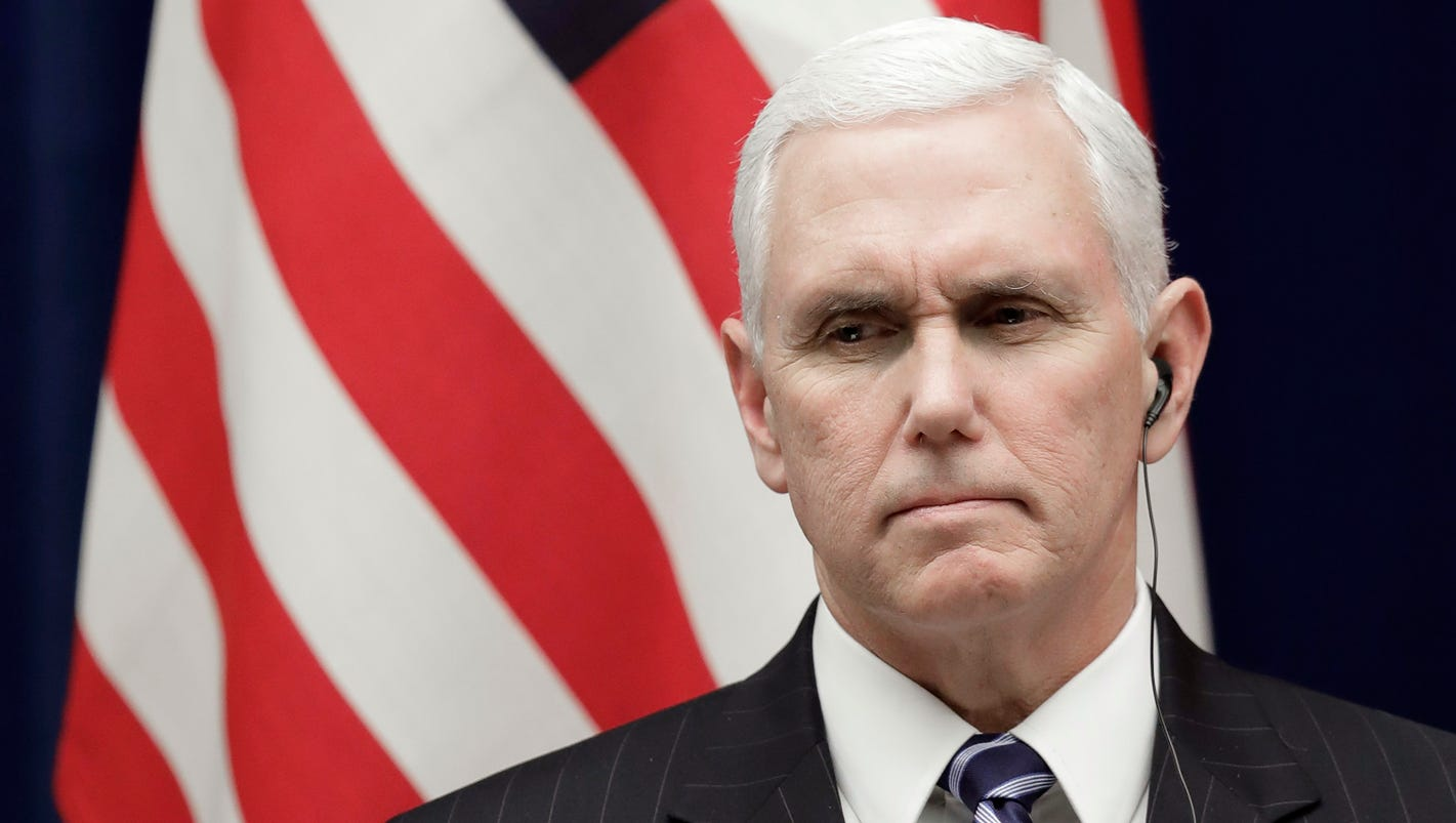 Pence: Don't let North Korea hijack 2018 Winter Olympics