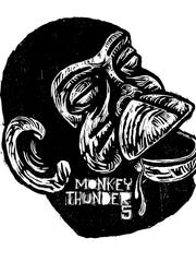 """The display """"Monkey Thunder 5"""" opened at Gordy Fine Art and Framing during ArtsWalk 2015."""
