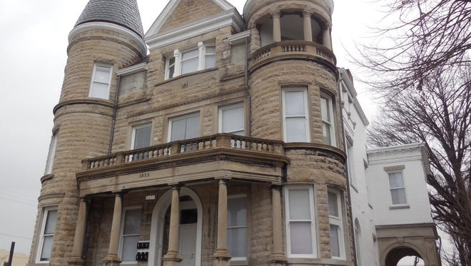 The former Ouerbacker-Clement Mansion at 1633 W. Jefferson St. has been converted to income-restricted apartments.