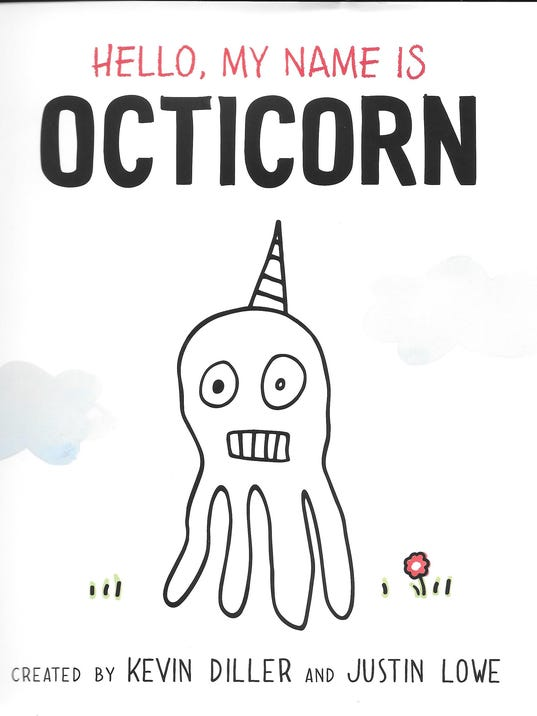 Image result for Hello my name is OCticorn cover