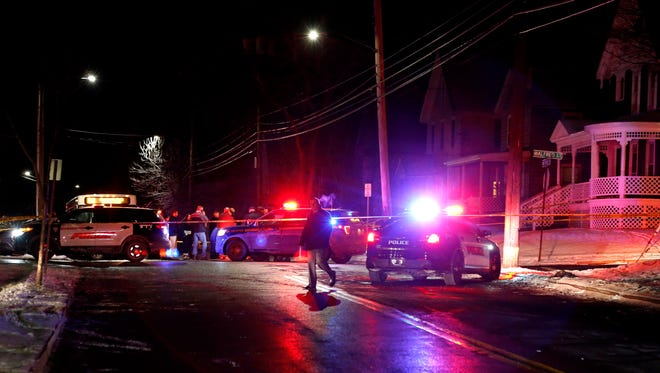 A New York State trooper sustained non-life threatening injuries Tuesday after being struck by a car in the area of Conklin Avenue in Binghamton.