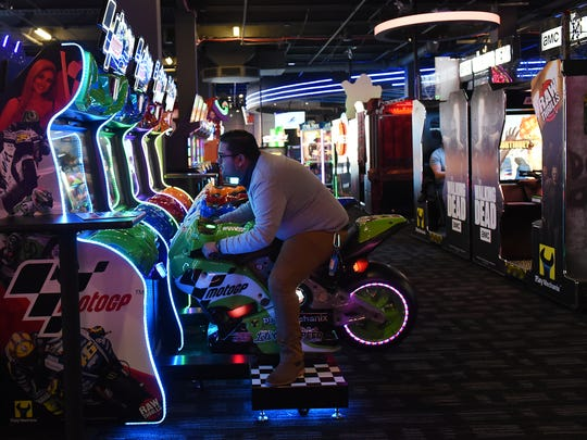 The new Dave & Busters in Wayne, NJ opens to the media
