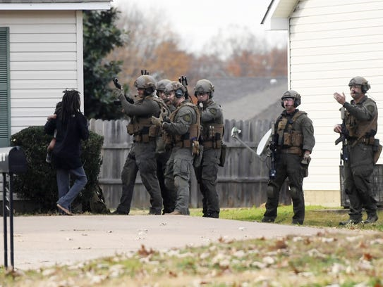 Woman, child safe after SWAT deploys