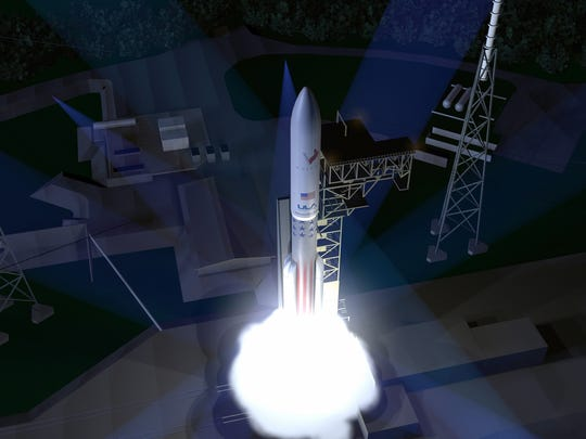 Concept image of United Launch Alliance's proposed