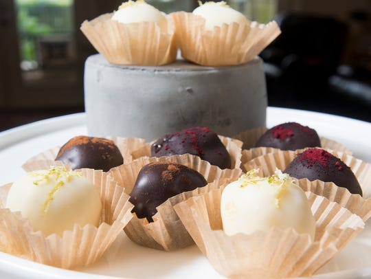 Truffles at Bluejay's Bakery in Pensacola on Tuesday,