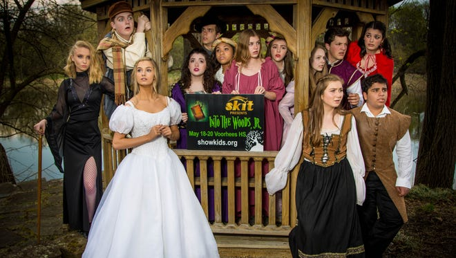 """ShowKids Invitational Theatre presents 'Into the Woods Jr.,' May 18-20. The cast of familiar fairytale characters learns to """"be careful what you wish for"""" as you """"never can tell what lies ahead."""""""