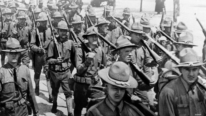 World War I started 100 years ago.