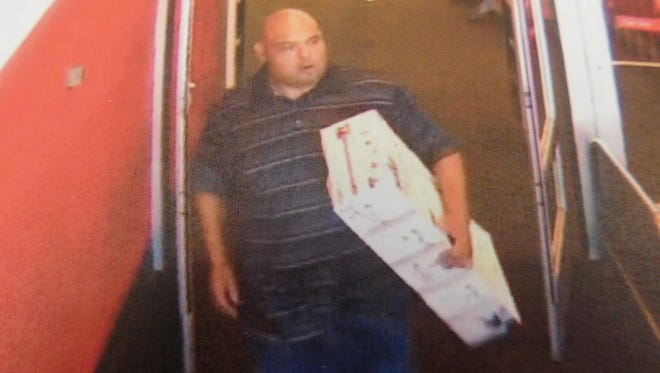 Police say this man stole a Dyson vacuum from a store in Surprise.