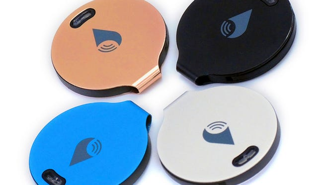 The brand new TrackR bravo is a coin-sized device that can help you locate a valuable item if it's lost or misplaced. All you have to do is attach the device to the item and download the TrackR app.
