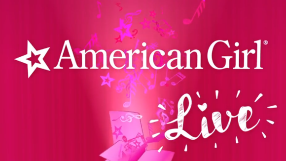 American Girl Live is coming soon. (Screenshot from YouTube video)