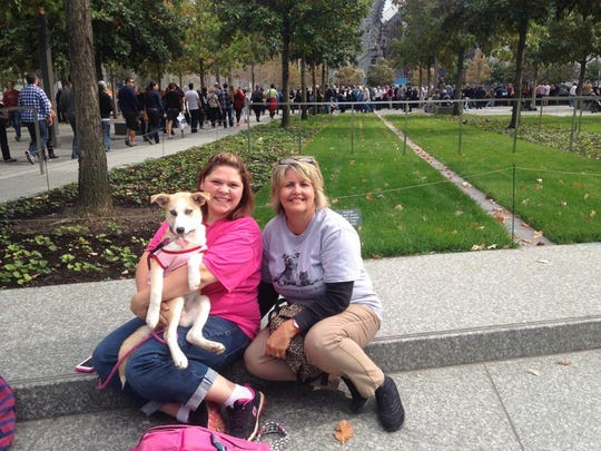 Coveia, an Operation Education Animal Rescue adoptee, will appear in the Puppy Bowl 2015. She visited New York City to participate. Here's scenes from her trip.