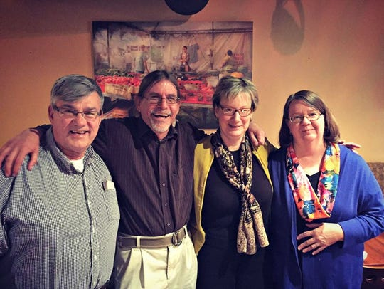 Brice Stump, Todd Dudek, Liz Holland and Cindy Robinson