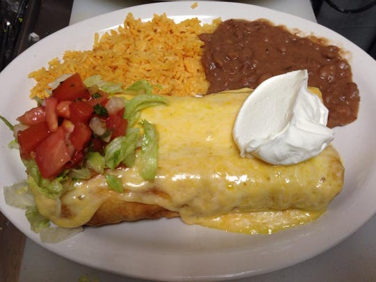 A platter from Jose's Mexican Restaurant in Spring Lake Heights.