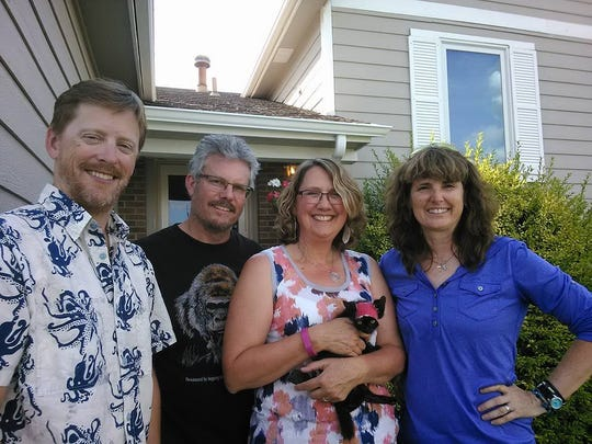 Stormy, the luckiest kitten of RAGBRAI, finds a new