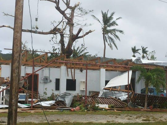 Manas Frank Castro Tito shared this photo of the aftermath of Typhoon Soudelor in Tanapag, Saipan, Aug. 4.