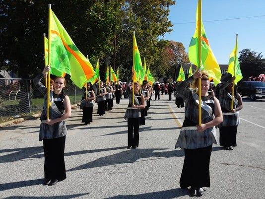 Marching Clan Parade