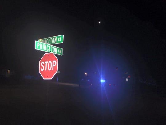 Clarksville shooting scene