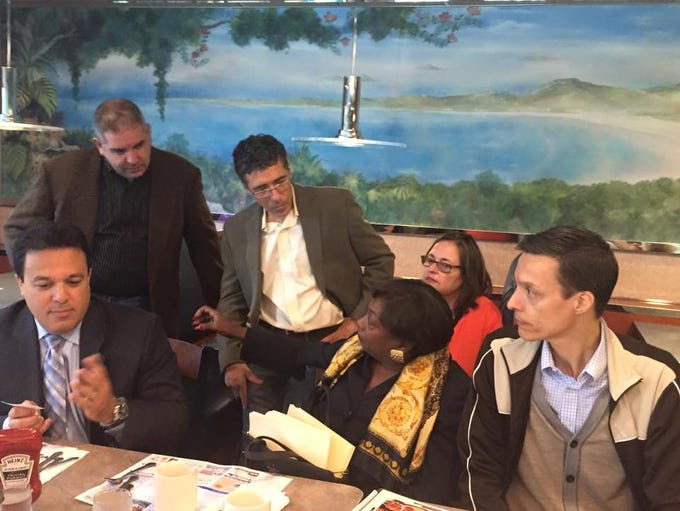 The Journa lNews /lohud coffee chat in Yonkers