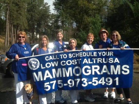 One hundred 150 low cost mammograms are available in