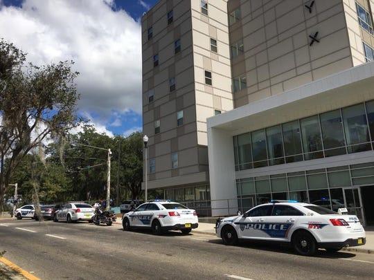 Police on scene at Onyx.