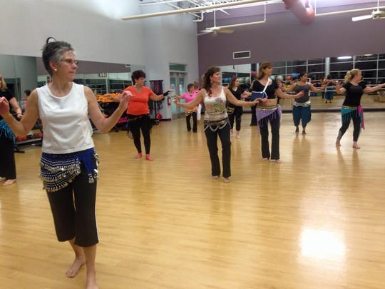 The dance fitness class at Parrish Health and Fitness class offers a guided and enthusiastic introduction to this exotic dance style.