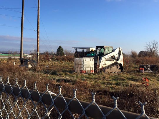 Crews are doing environmental cleanup work on over 234 acres of land in Lansing Township and Lansing. The land could be purchased and redeveloped by a new tenant soon.