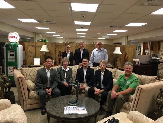 The team met with the YATC board of directors last