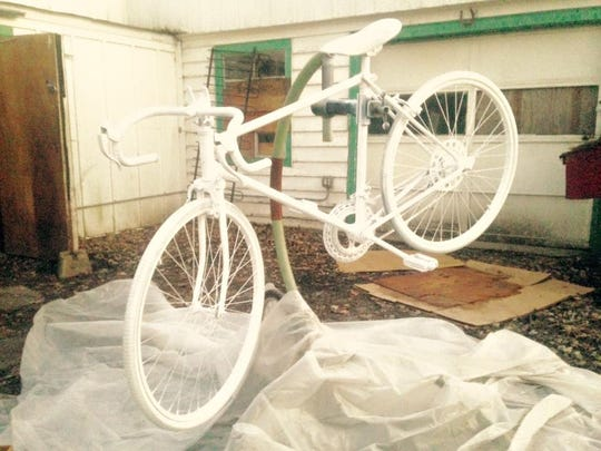 Mobo Bicycle Coop is creating a ghost bike in honor of bicyclist Michael Prater who died after a hit-amd-run crash Sunday.