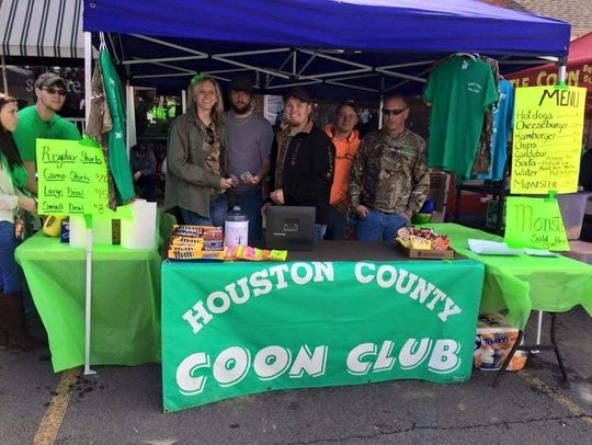 The Houston County Coon Club had a booth at last year's