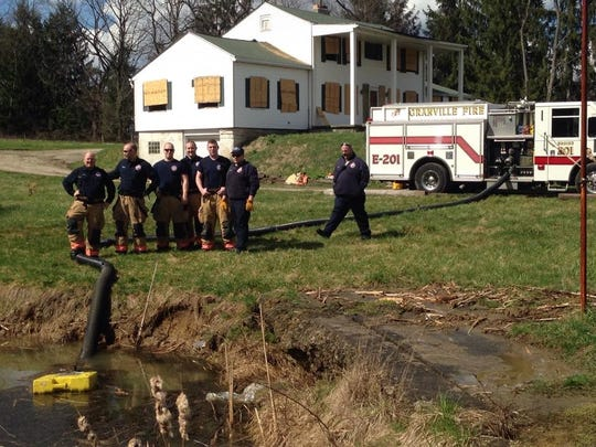Granville Township Fire personnel participated in a