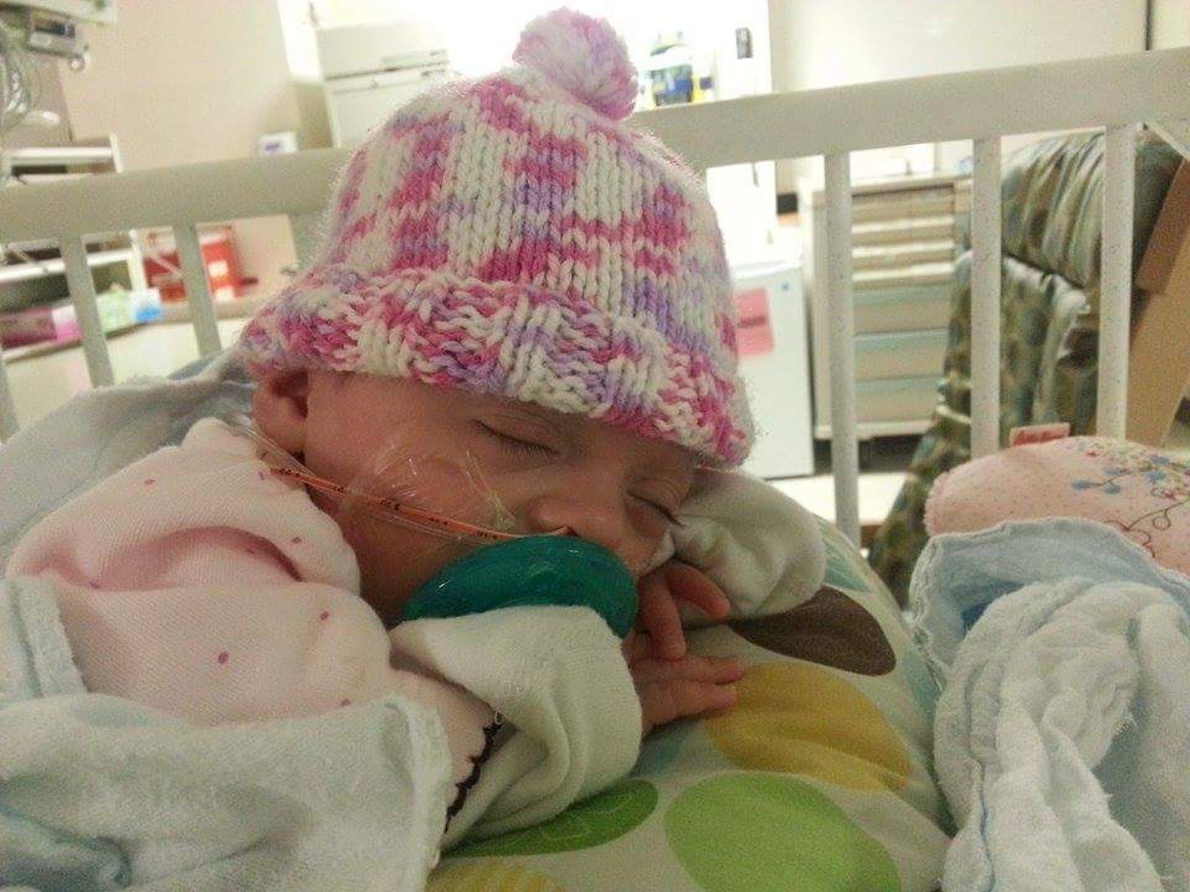 Hayden Grace spent four months in the NICU in Portugal.