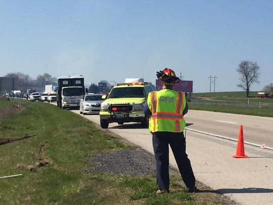 A vehicle crash along Route 15 in Straban Township delayed traffic on Friday. The crash was reported around 10 a.m., and the road was closed until about 11:55 a.m.