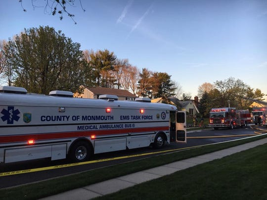 The Monmouth County EMS Task Force responds to an Aberdeen