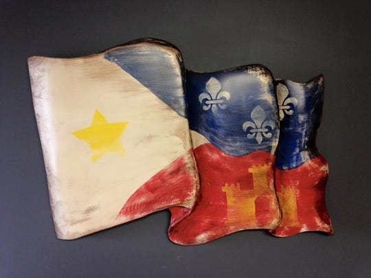 Although Louisiana pride runs high, the Bairds make custom orders for people around the country.