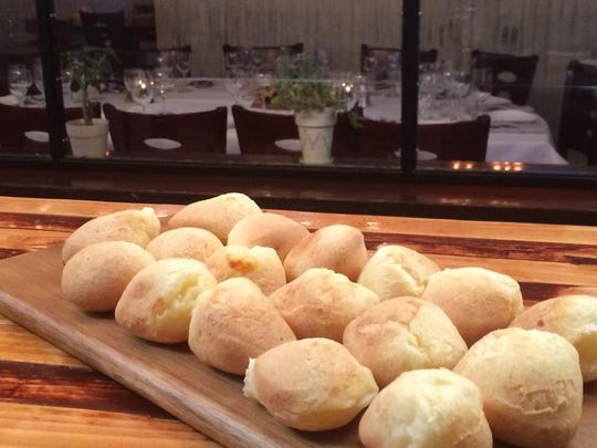 Pao de queijo, a Brazilian cheese bread, is served on special occasions at Zoe Bistro in Little Silver.