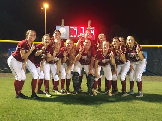 The Franklin County softball team won its first district title ever this year, then it beat South Walton 7-4 on Tuesday night, sending the Seahawks to the state tournament for the first time.