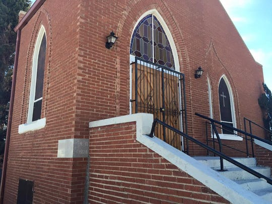 First Baptist Church in Fabens was built in 1928. It