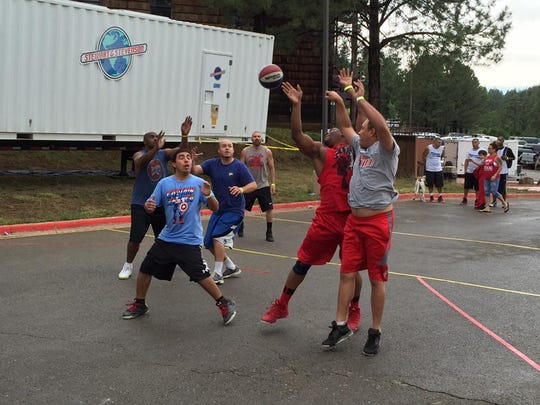 Ballers from every age group and level of expertise flocked to Inn of the Mountain Gods for Macker on the Rez.