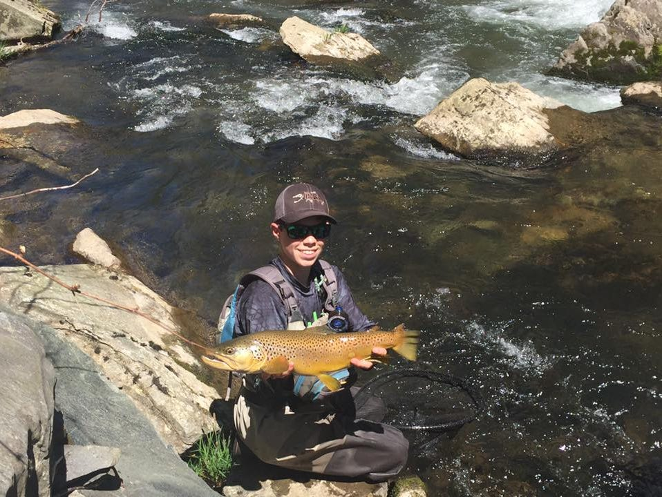 Smoky s boyer makes u s youth fly fishing team usa for Fly fish usa