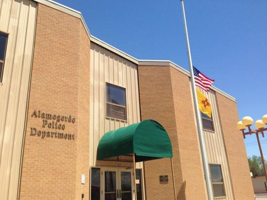 As ordered by President Barack Obama, the Alamogordo Police Department lowered their flags to half-staff on Friday to honor the five officers killed in the Dallas shooting.
