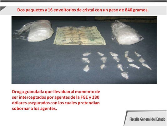 U.S. girls arrested in Juarez for drug trafficking