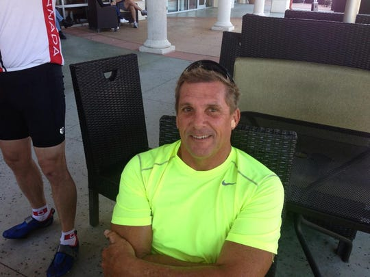 Bob Henshaw had been training for sprint triathlons before his accident.
